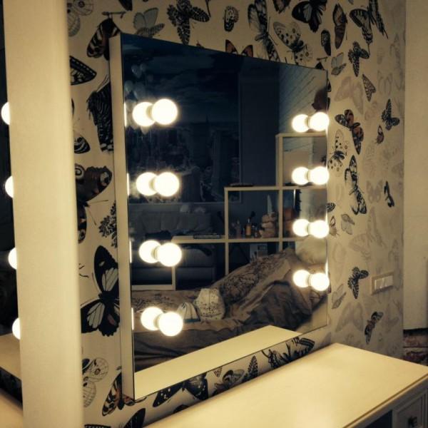 Как сделать зеркало для макияжа с подсветкой 110