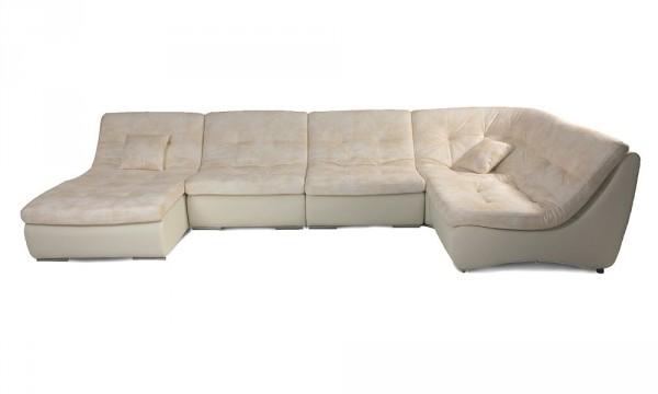 Стильный модульный угловой диван Релакс