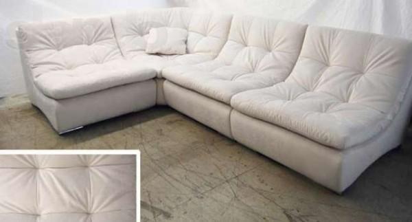 Угловой модульный диван от белорусского производителя