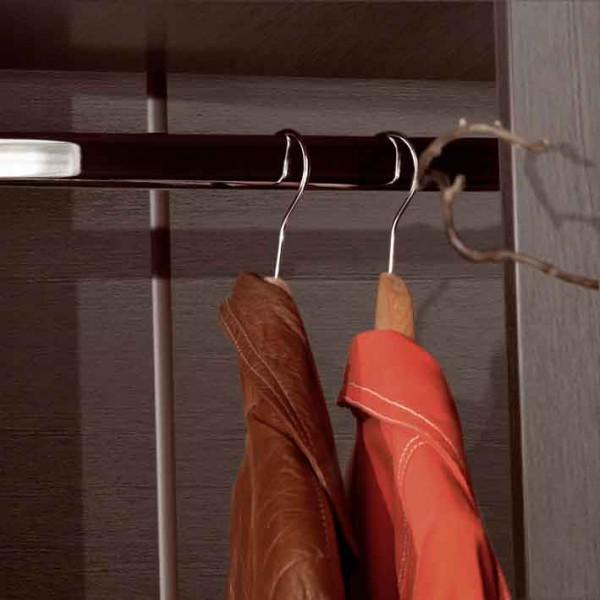 Вешалка на вакуумной присоске в коридор