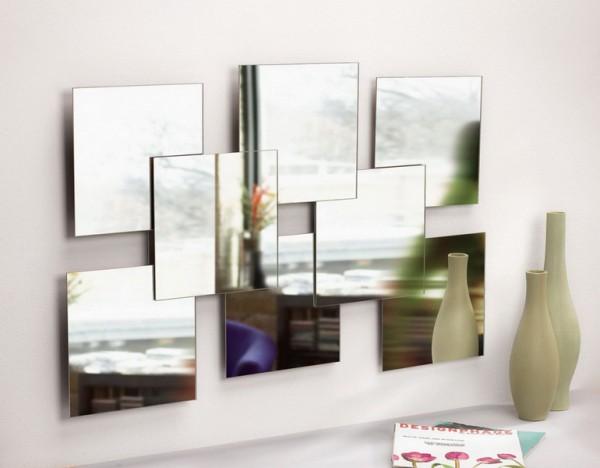 фото зеркала необычной формы в прихожую