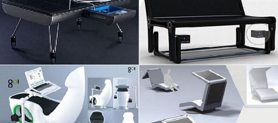 Мебель вырабатывающая энергию