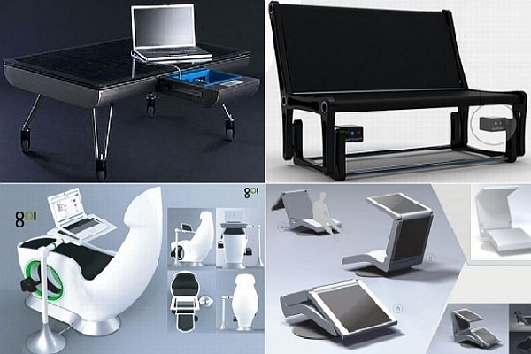 В 21 веке даже мебель может вырабатывать электроэнергию