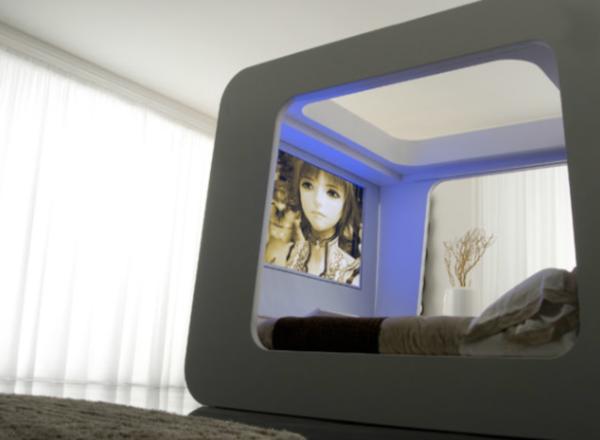 2 в 1: кровать и мультимедийная система