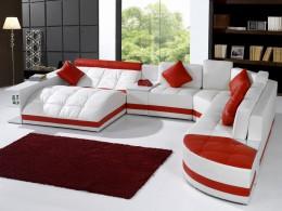 Модульные диваны со спальным местом для гостиной — удобство и практичность в современных жилых интерьерах