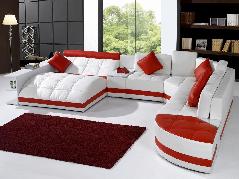 Модульные диваны со спальным местом для гостиной - удобство и практичность в современных жилых интерьерах