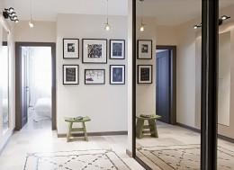 Настенное зеркало в прихожую — учимся вписывать в интерьер и вешать самостоятельно