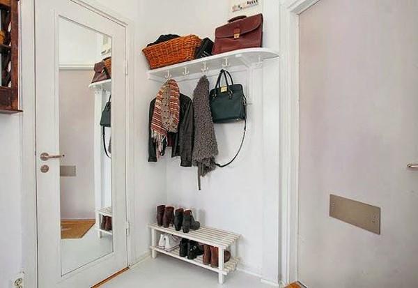 мебели в прихожей для узких коридоров в хрущевке