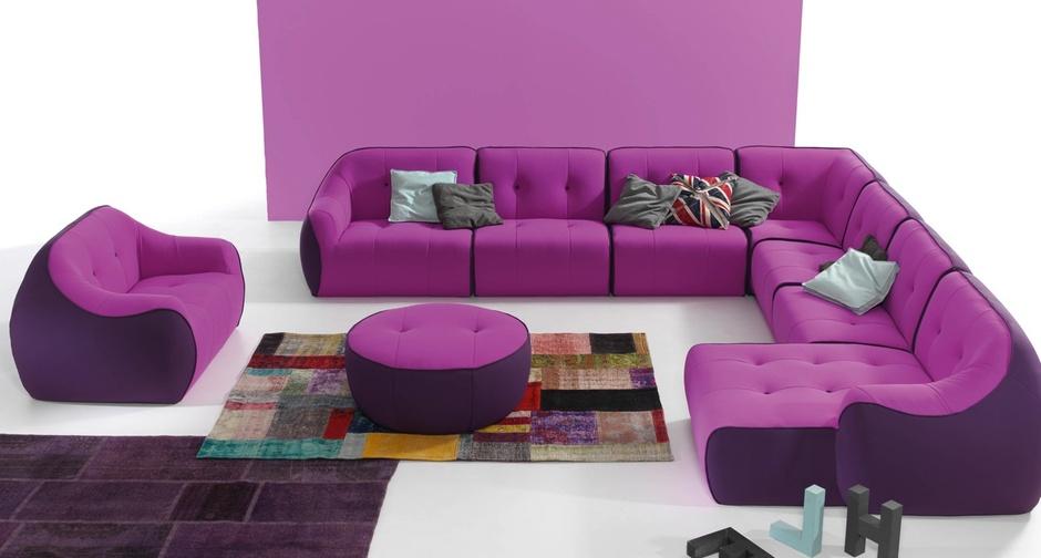 Модульные диваны - незаменимая вещь в современном интерьере