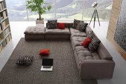 Модульный угловой диван — удобная и практичная конструкция в вашем доме