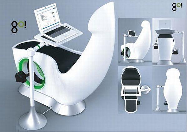 Многофункциональная мебель которая способна вырабатывать энергию