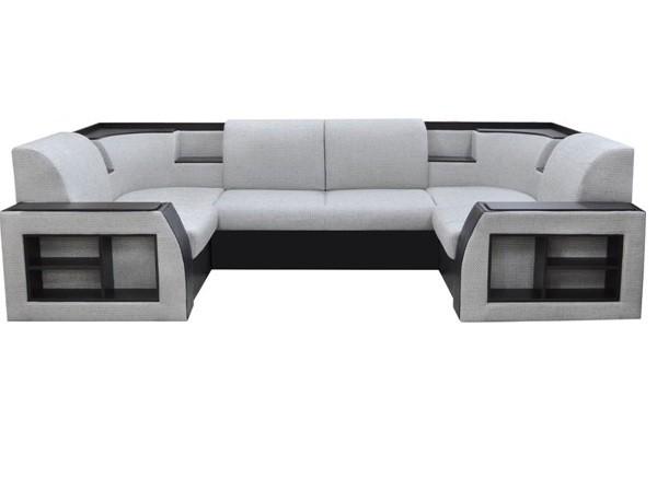 наполеон кожаный модульный диван кровать
