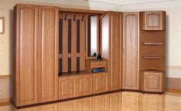 Угловые прихожие: как использовать преимущества такой мебели
