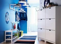 Прихожие и шкафы в коридор от Икеа — стильно, практично и необычно экономно
