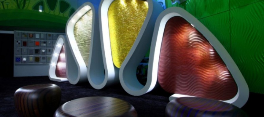 светящаяся мебель