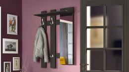 Вешалка с зеркалом в прихожую — удобно, красиво, функционально