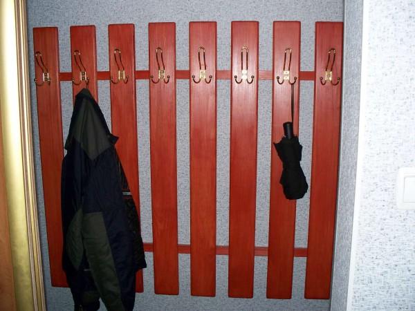 вешалка своими руками в коридор