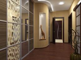 Встроенный шкаф в прихожую – экономное, практичное и красивое решение
