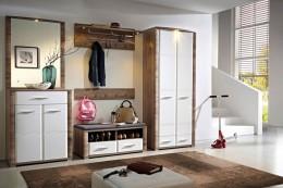 Шкаф-купе и другие разновидности гардероба с зеркалом в прихожей: создать интерьер с помощью одного предмета