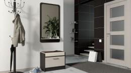 Зеркало с полкой в прихожую — разнообразие конструкционных и стилевых решений