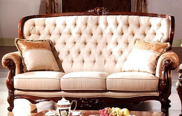 Фото тканевого прямого дивана