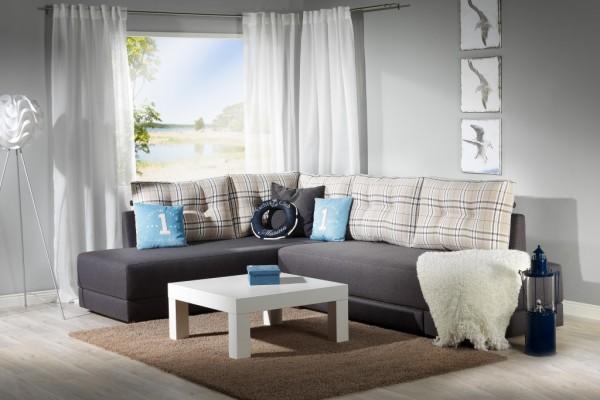Фото углового дивана без подлокотников