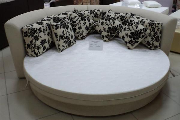 Круглая диван-кровать Смайл