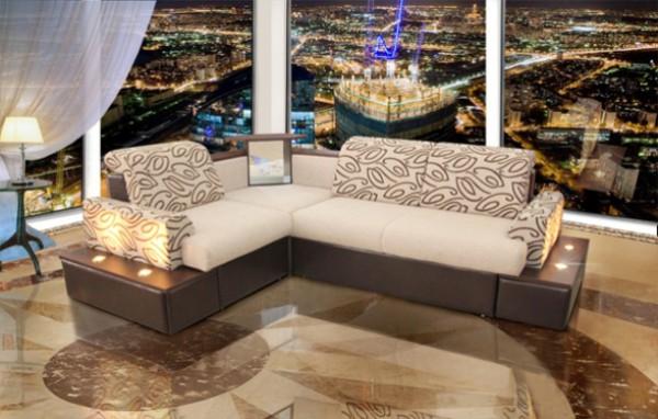 Олимп диван с подсветкой