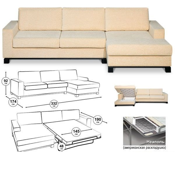 Чертежи раскладных диванов своими руками