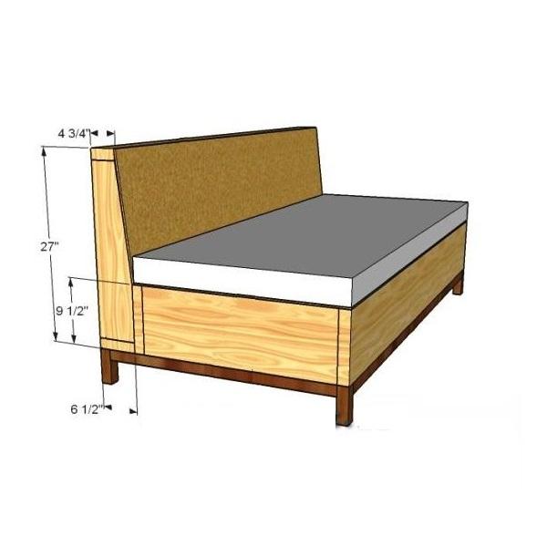Как сделать топчан кровать