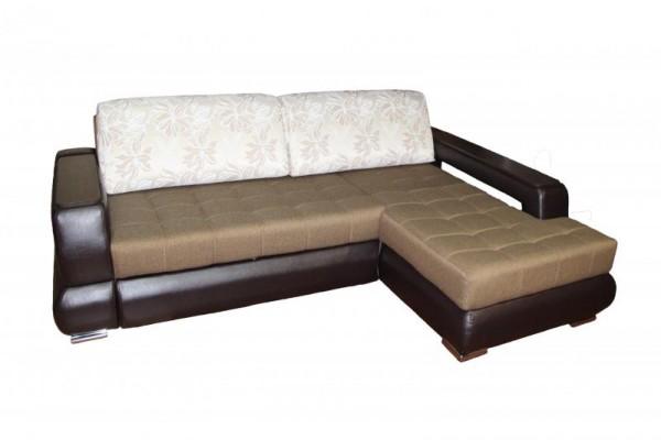 Угловой диван с полкой Жасмин