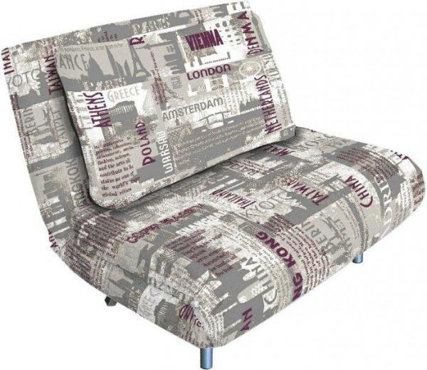 Узкое кресло-кровать без подлокотников