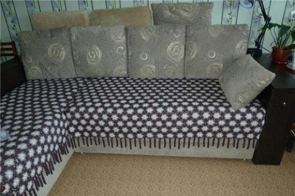 покрывало на угловой диван сшить своими руками фото выкройки