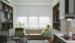 Прямые узкие диваны на кухню — комфорт для хозяев и для гостей