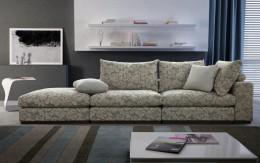 Прямой диван — комфортное и стильное место в вашей квартире