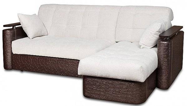 компактный угловой диван кровать