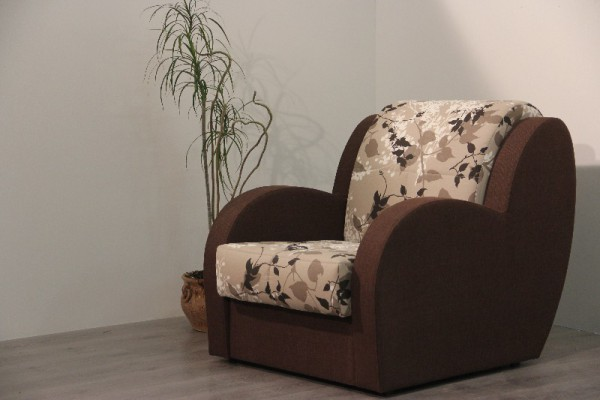 кресло кровать барон с ящиком для белья