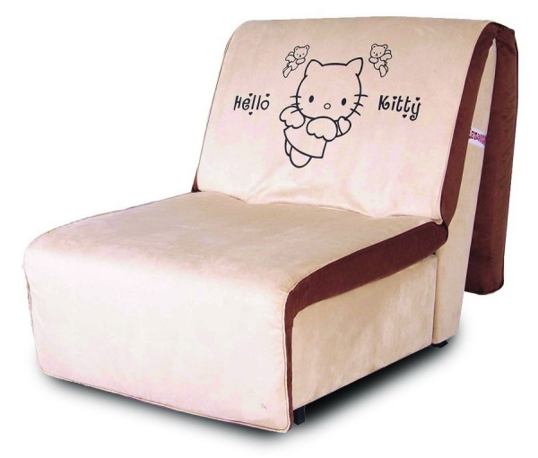 кресло-кровать без подлокотников Novelty