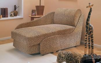 кресло кровать для детей в леопардовом принте