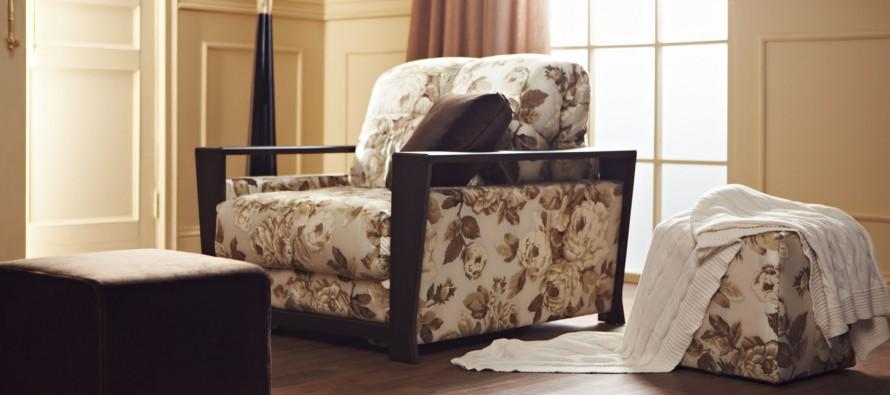 купить мягкое узкое раскладное кресло