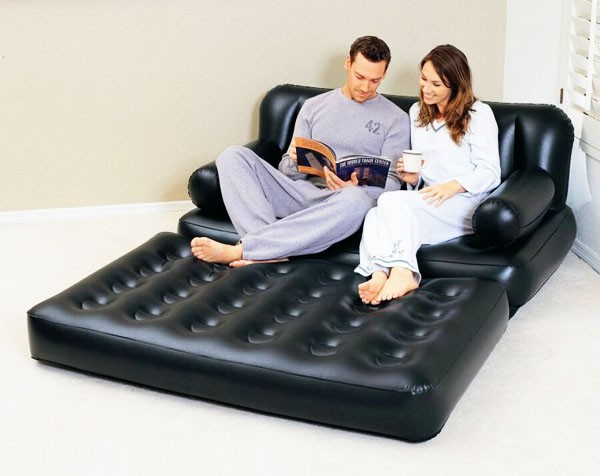 надувной диван кровать трансформер 5 in 1