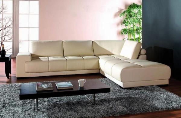 широкий угловой диван