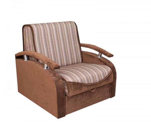 стильное кресло-кровать аккордеон Рубин