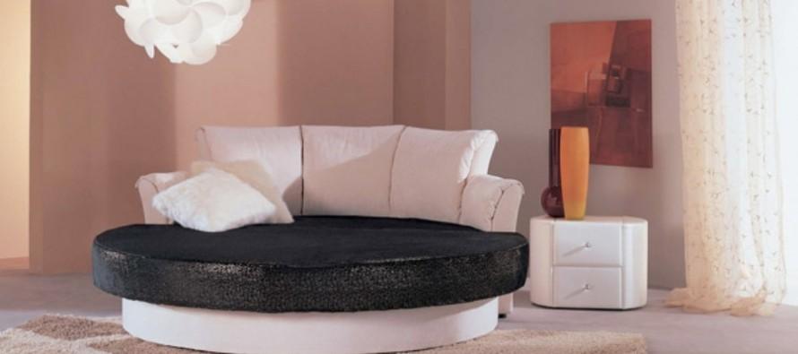 цены на круглые диваны кровати