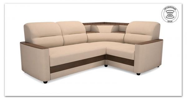 угловой диван Милан с баром