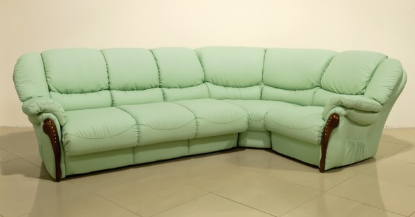 угловой диван размером