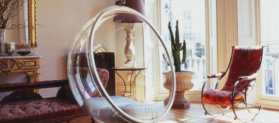 Bubble Chair подвесные кресла в интерьер