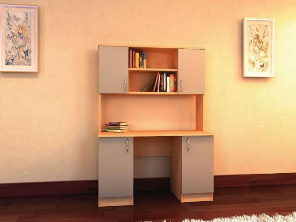 Фото компактного маленького письменного стола для школьника