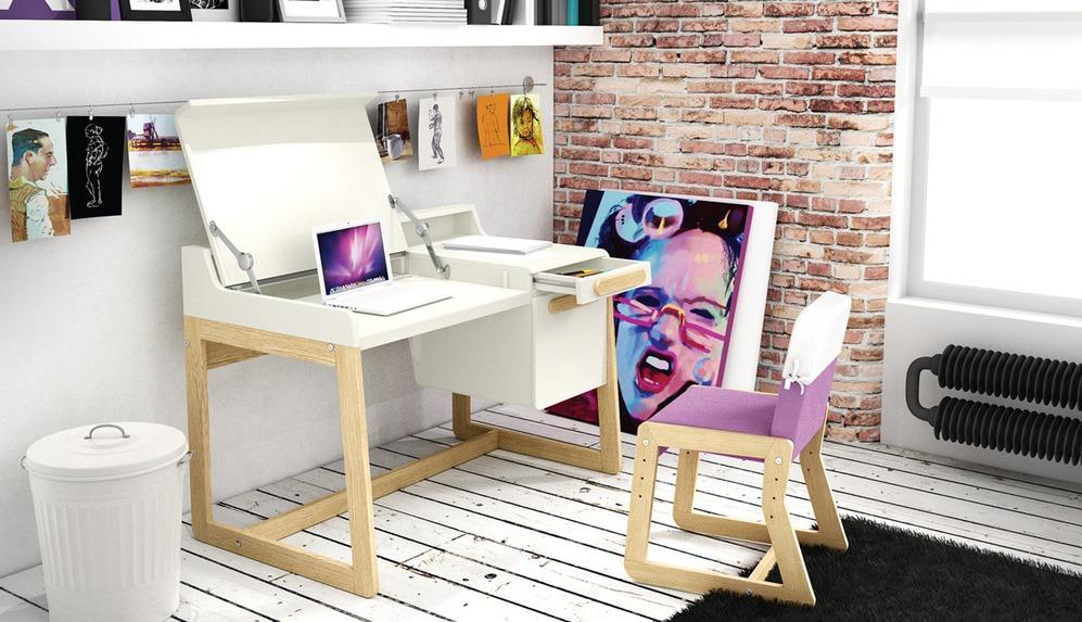 Цветовое оформление компьютерного стола: нейтральное или оригинальное?