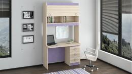 Компьютерные столы с надстройкой – грамотная организация рабочего пространства